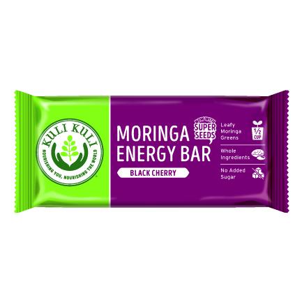 Moringa Superfood Bar - Black Cherry - Single