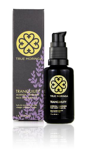 True Moringa Lavender Moringa Facial & Body Oil